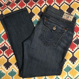 True Religion Boyfriend Flap Pocket Jeans